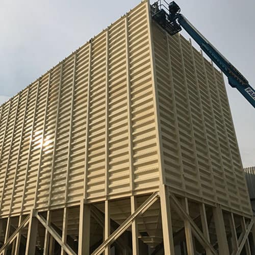 sanitary bulk silo storage