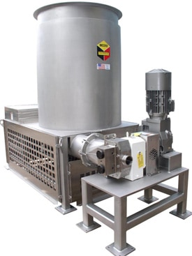 Scott Cake Feeder for AST Dryer