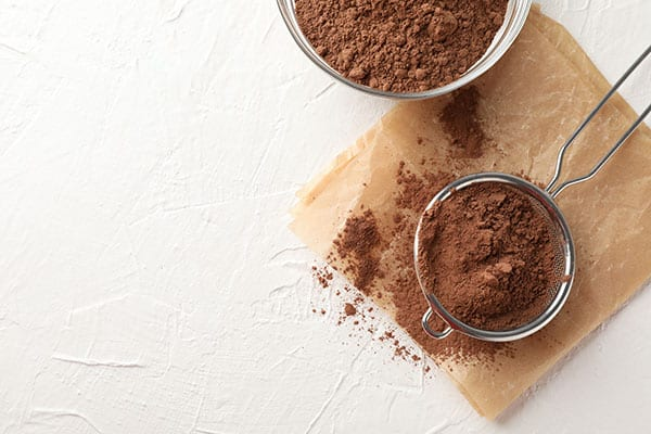 continuous mixers and blenders - powdered cocoa